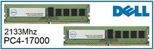 DELL 32GB (2x16GB) DDR4 PC4-17000 2133MHz NON ECC Desktop/PC Memory Ram Upgrade