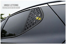 Rear Glass C Pillar Sports 3D Plate Yellow Color For 11~2015+ Kia Optima K5