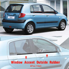 OEM Parts Window Accent Outside Rubber Molding For HYUNDAI 2006-2012 Getz /Click
