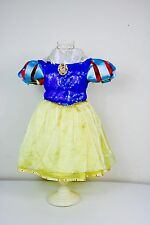 Disney Store Princess Snow White Halloween Girl Costume Ball Gown Dress Sz 2/3