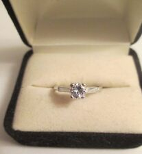 Platinum  Diamond Engagement Ring Center=.60  D-VS2 TCW=.90  Value=$7,950