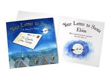 Personalised Your Letter to Santa Children's Hardback Christmas Book with name