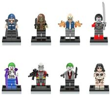 DC Suicide Squad Custom Mini Figures Set of 8 SET C - fit Lego