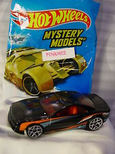2017 Mystery Models #04 MUSCLE TONE∞black/red; y5∞Sticker∞Hot Wheels∞