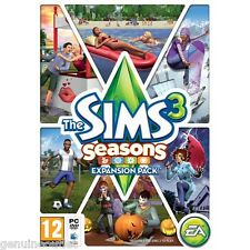 The Sims 3 Seasons Expansion Pack (PC/MAC DVD) SEALED NEW