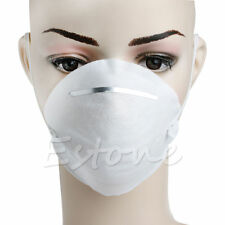 10X Dust Face Mask Filter Mouth Disposable Non-toxic Comfortable White New