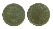 pci2933) Napoli Regno delle Due Sicilie Ferdinando I - 8 Tornesi 1817