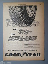 R&L Ex-Mag Advert: Goodyear Tyres, Ultre Grip Tryes