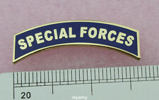 US ARMY SPECIAL FORCES TAB PIN DRESS BLUE PIN