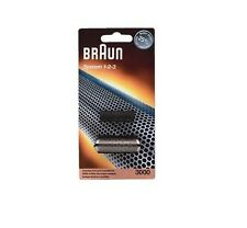 Braun Shaver 3000 System 1-2-3 Foil Cutter block 123 - BRAND NEW - GENUINE