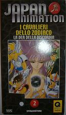 VHS - DE AGOSTINI/ JAPAN ANIMATION - VOLUME 2 - I CAVALIERI DELLO ZODIACO
