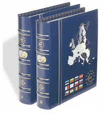 Vista Euro Coin Album Set - Volumes No.1 & No.2