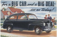Ford 1941 USA issued period Postcard