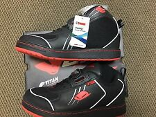 UFO PLAST BMX SHOES, MEN'S US SIZE 8.5, RED/BLACK FROM ITALY, NEW IN THE BOX !