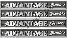 Advantage Boats Classic Vintage Decals Remastered.