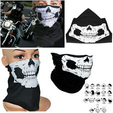 Fashion Skeleton Black Face Mask Scarf Tour Skull Helmet Cycling Motorbike