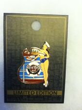 Hard Rock Cafe Pin Malta Bar Marine Sailor Girl 2015