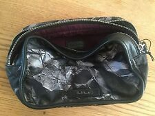 Paul Smith PS EDDSONE Crumpled Paper Expandable Wash Bag