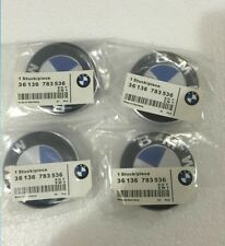 4 Pcs BMW Genuine Emblem Logo Badge Hub Wheel Rim Center Cap 68mm Set of 4 grey