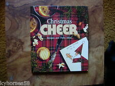 Christmas Cheer Recipes And Party Ideas Hardcover Book