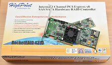 Highpoint 4 Channel Hardware-Raidcontroller RocketRaid 4310 PCIe x8