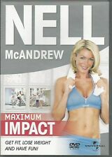Nell McAndrew Maximum Impact Exercise Fitness DVD FREE SHIPPING
