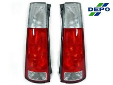 97 98 99 00 01 HONDA CRV CR-V DEPO JDM LOOK RED/CLEAR REAR TAIL LIGHTS NEW PAIR