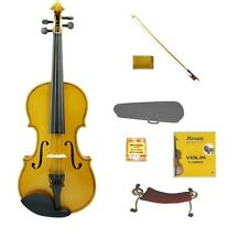 NEW 4/4 FULL SIZE GOLD VIOLIN,GOLD BOW,CASE~REPLACEMENT STUDENT BEGINNER STARTER