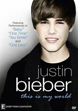 Justin Bieber - This Is My World (DVD, 2011)