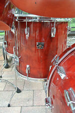 "ADD this 1982 TAMA SUPERSTAR 16"" CHERRY WINE RED FLOOR TOM to YOUR DRUM SET C132"