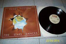 PIERO PICCIONI FIRE STARS DANCES/ GENERAL MUSIC GML 10013/1979 ITALY LP