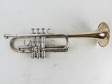 Edwards Generation II C Trumpet Raw Brass Bell Silver Plated Body [E0463]