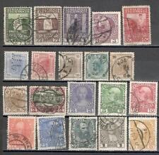 R5168 - AUSTRIA 1902 - LOTTO 20 DIFFEFRENTI - VEDI FOTO