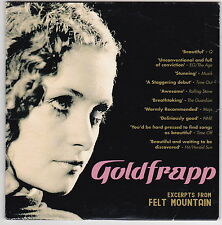 Goldfrapp - Excerpts From Felt Mountain - CD ( Card Sleeve Promo GOLD1)