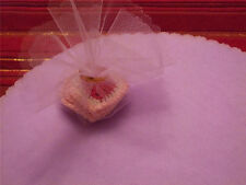 """9""""  100 LAVENDER Tulle Round Circles Wedding Favor NEW"""
