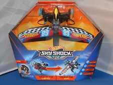 Hot Wheels Remote Control RC Sky Shock Transformation Car To Airplane Toy NMIB!