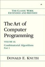 The Art of Computer Programming, Volume 4A: Combinatorial Algorithms, -ExLibrary