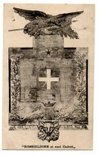 MONUMENTO CADUTI 1915 18 1GM WW1 ROSSIGLIONE AI SUOI CADUTI GENOVA
