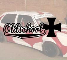 Old School Iron Cross nr4  Aufkleber Sticker Race Raser Fun JDM OEM DUB Like