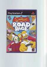 THE SIMPSONS ROAD RAGE - PS2 GAME / 60GB PS3 - FAST POST - ORIGINAL & COMPLETE