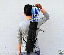"""CA 21"""" Back Arrows Quiver Bow Package Archery 3 Point Harness Waterproof Bag"""