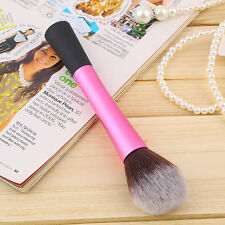 Synthetic Fiber Cosmetic Powder Blush Foundation Makeup Tapered Brushes FE