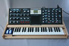 Moog Minimoog Voyager Electric Blue Select Maple Analog Synth FREE SHIPPING