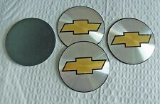 NEW for Chevrolet Trucks/Vans Silver 4 Piece Wheel Center Cap Logo Set Free Ship