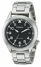 Fossil Men's AM4562 The Aeroflite Stainless Steel Watch
