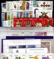 ESPAÑA - AÑO 2011 COMPLETO - SELLOS NUEVOS DE LUJO
