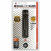 Maglite XL200S3016 LED Flashlight 3 Cell Black