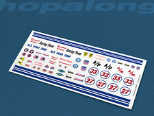 Scalextric/Slot Car/Diecast 1/64 Scale Waterslide Decals. sf009