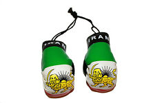 IRAN COUNTRY FLAG WITH LION MINI BOXING GLOVES .. NEW