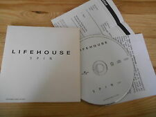 CD Pop Lifehouse - Spin (1 Song) Promo MOTOR MUSIC cb + Presskit